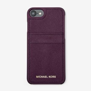 Michael Kors' Saffiano Leather iPhone Pocket Case